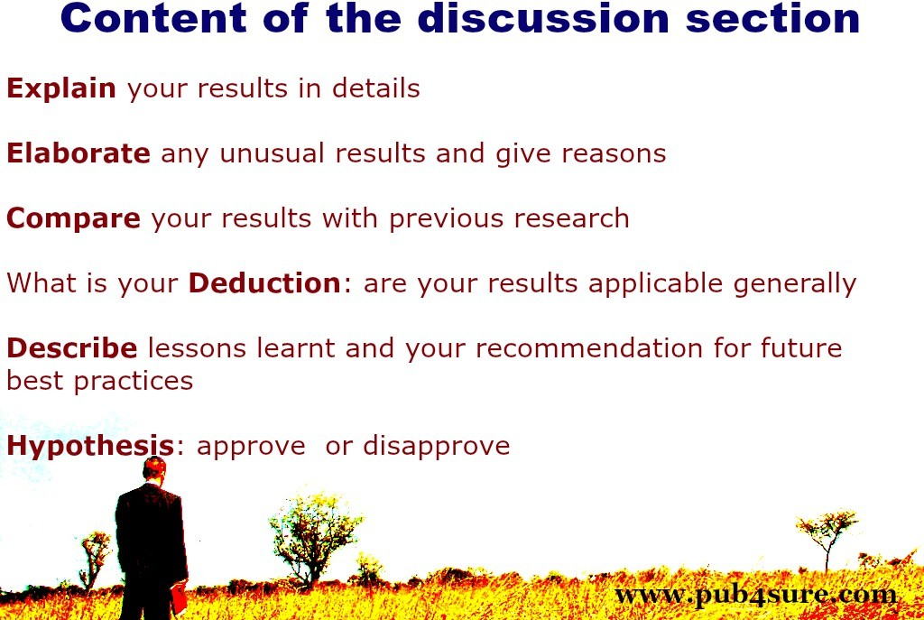 How To Write The Discussion Of A Research Article  PubSure